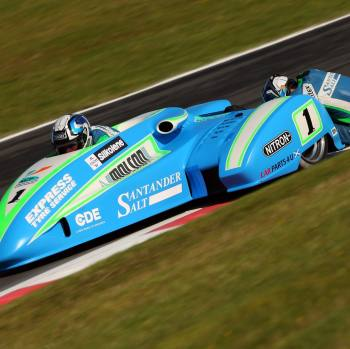 KERSHAW RACING WINS F1 SIDECAR DOUBLE ON NITRON